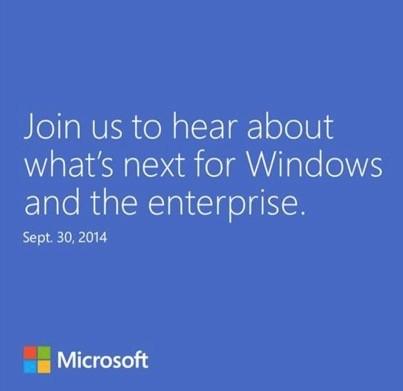 Microsoft представит новую версию Windows 30 сентября