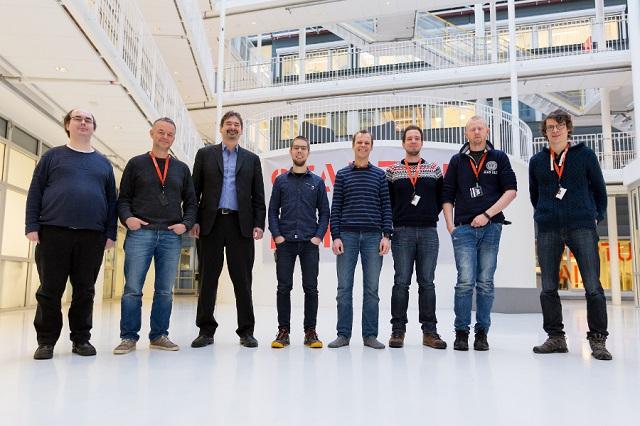 Фото группы разработчиков браузера Vivaldi в день открытия норвежского офиса