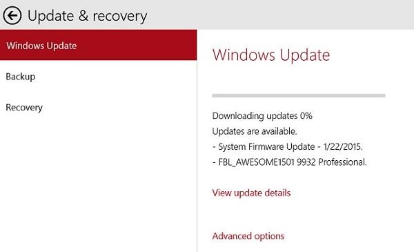 Windows 10 предлагает скачать новую сборку 9932