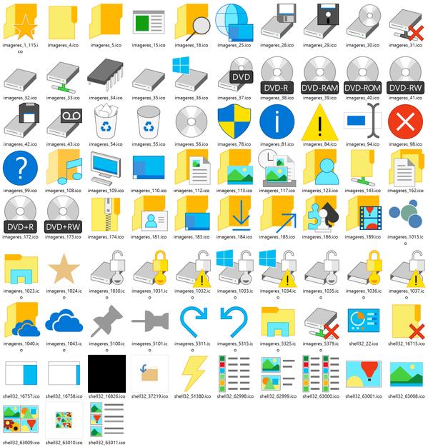 Windows 10: 83 новых значка на одной ...: news.softodrom.ru/ap/b21586.shtml